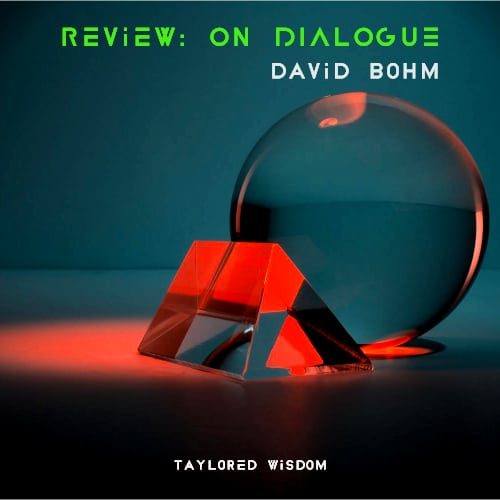 on dialogue david bohm